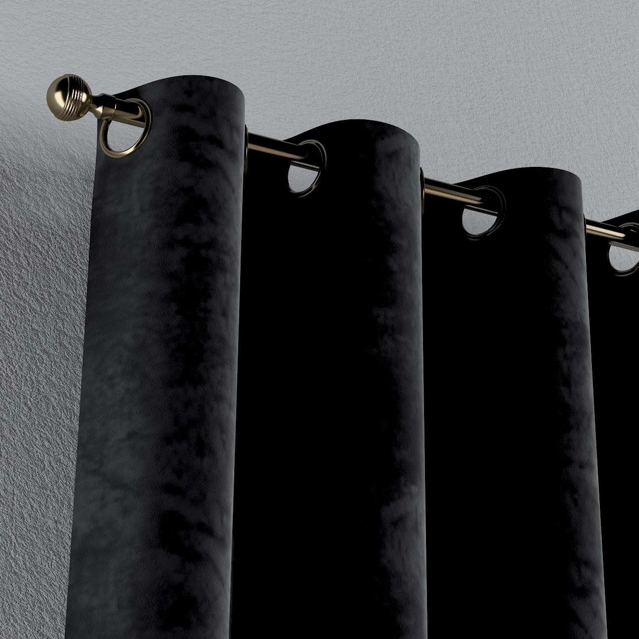 Gardin med øskner 1 stk. fra kollektionen Velvet, Stof: 704-17