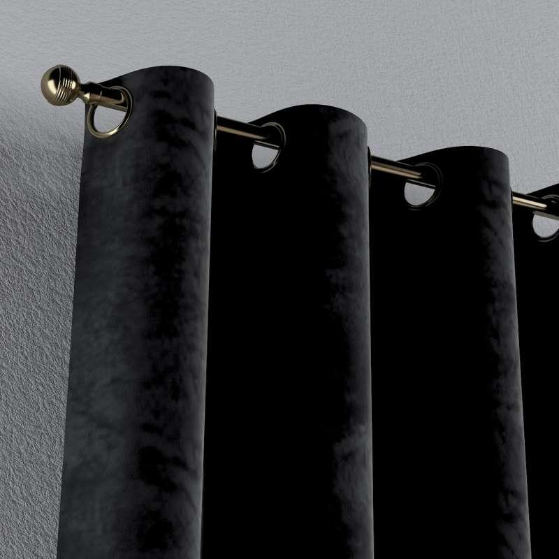 Gardin med maljer 1 stk. fra kolleksjonen Velvet, Stoffets bredde: 704-17