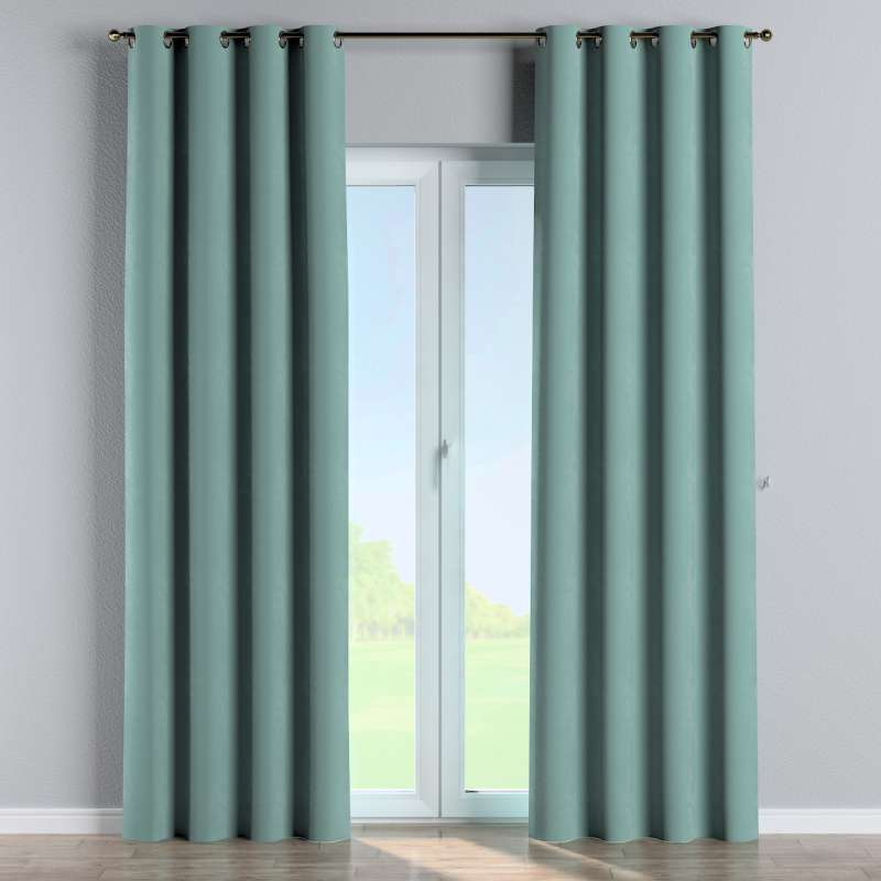 Eyelet curtain in collection Velvet, fabric: 704-18