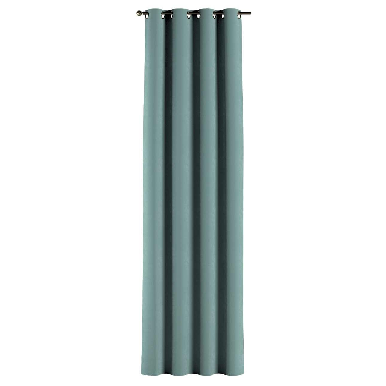 Gardin med maljer 1 stk. 130 × 260 cm fra kolleksjonen Velvet, Stoffets bredde: 704-18