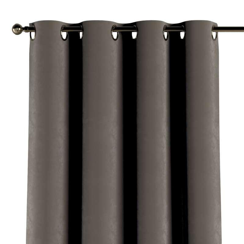 Gardin med öljetter 1 längd i kollektionen Velvet, Tyg: 704-19
