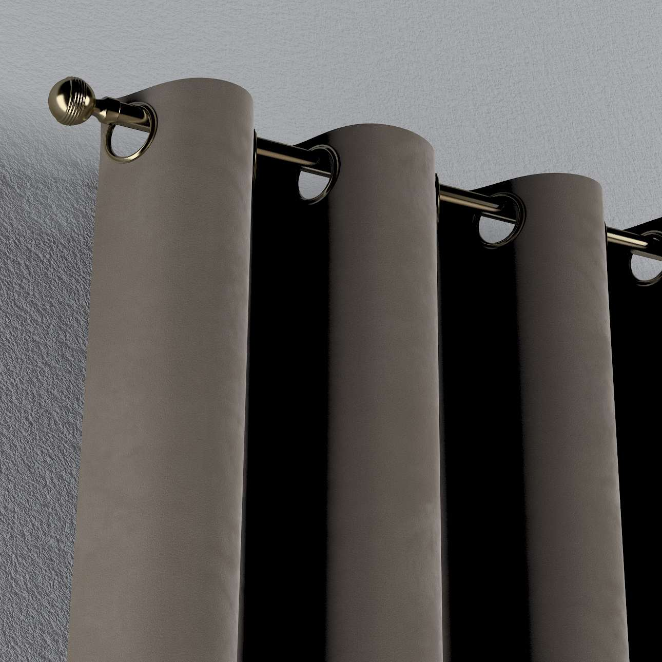 Záves s kolieskami V kolekcii Velvet, tkanina: 704-19