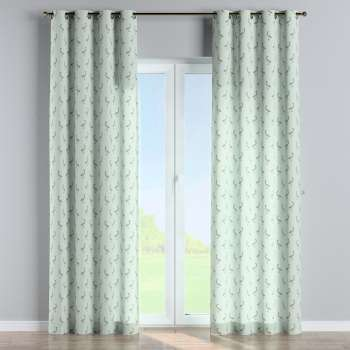Eyelet curtains in collection Flowers, fabric: 141-79