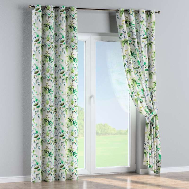 Eyelet curtain in collection Velvet, fabric: 704-20