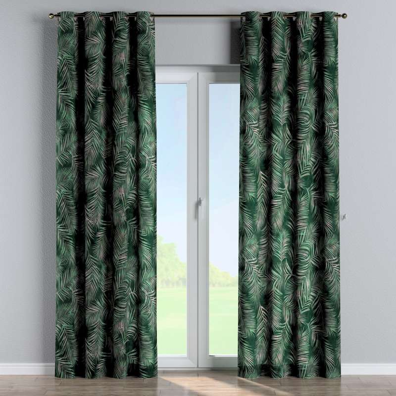 Eyelet curtain in collection Velvet, fabric: 704-21
