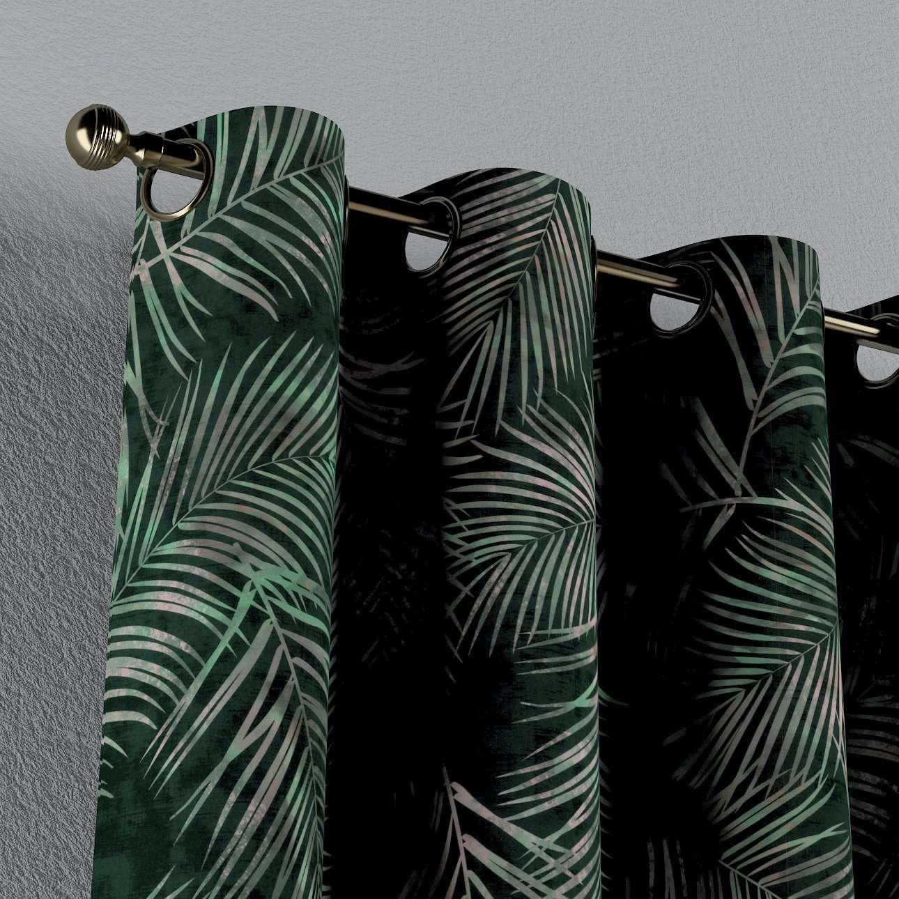 Gardin med maljer 1 stk. fra kolleksjonen Velvet, Stoffets bredde: 704-21