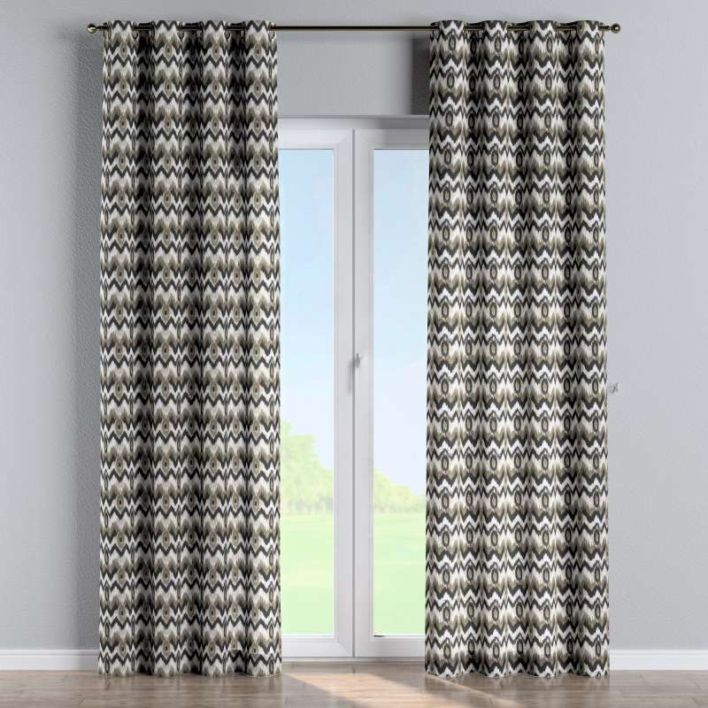 Eyelet curtain in collection Modern, fabric: 141-88