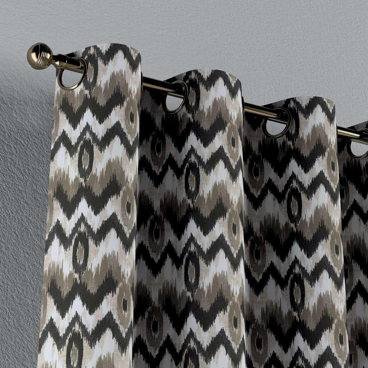 Závěs na kroužcích v kolekci Modern, látka: 141-88