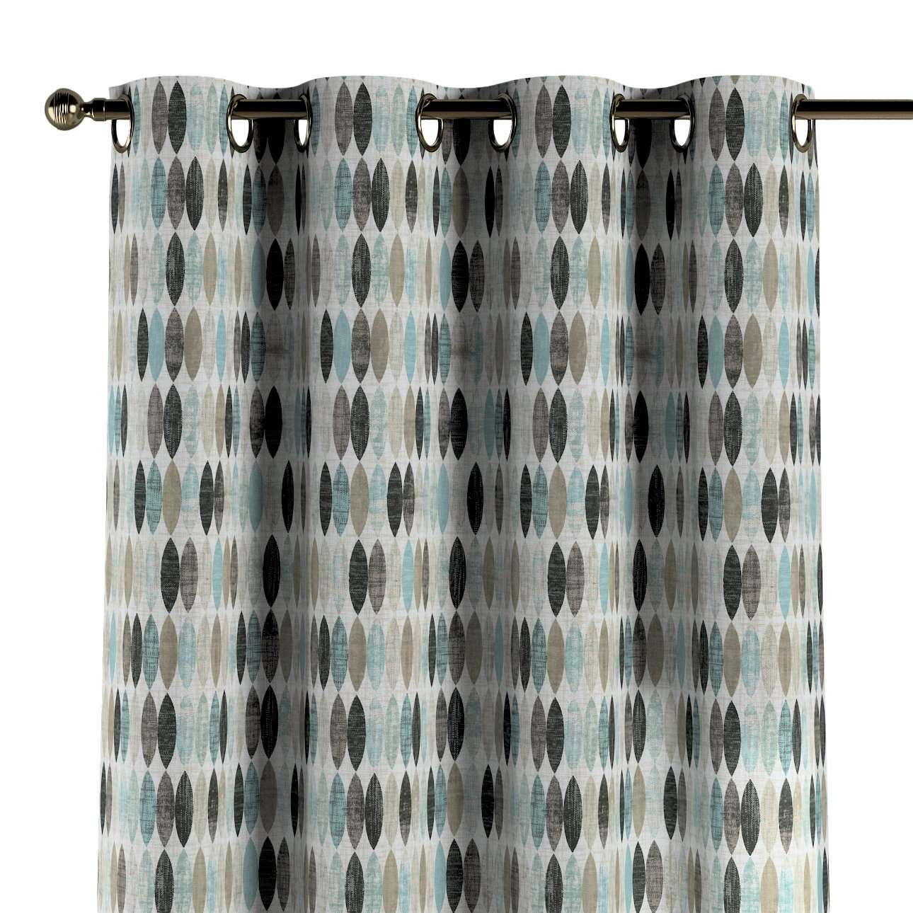 Žiedinio klostavimo užuolaidos kolekcijoje Modern, audinys: 141-91