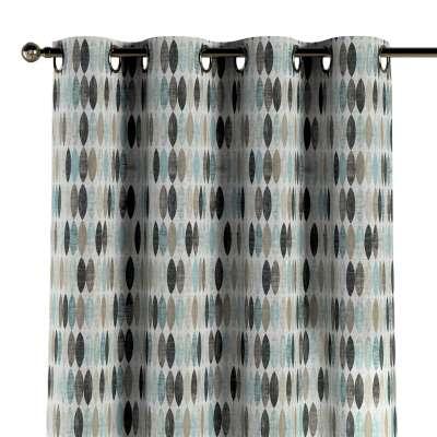 Gardin med maljer 1 stk. 141-91 Naturhvit med print Kolleksjon Modern