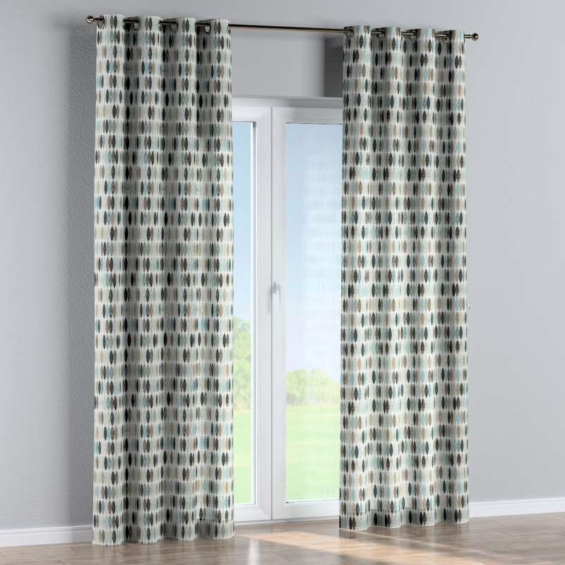 Eyelet curtain in collection Modern, fabric: 141-91