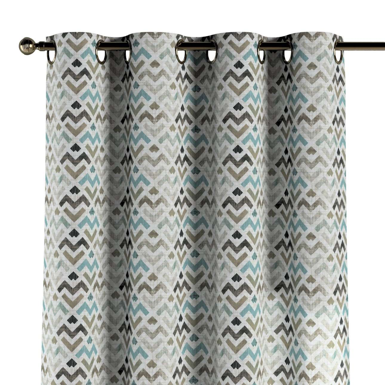Eyelet curtains in collection Modern, fabric: 141-93