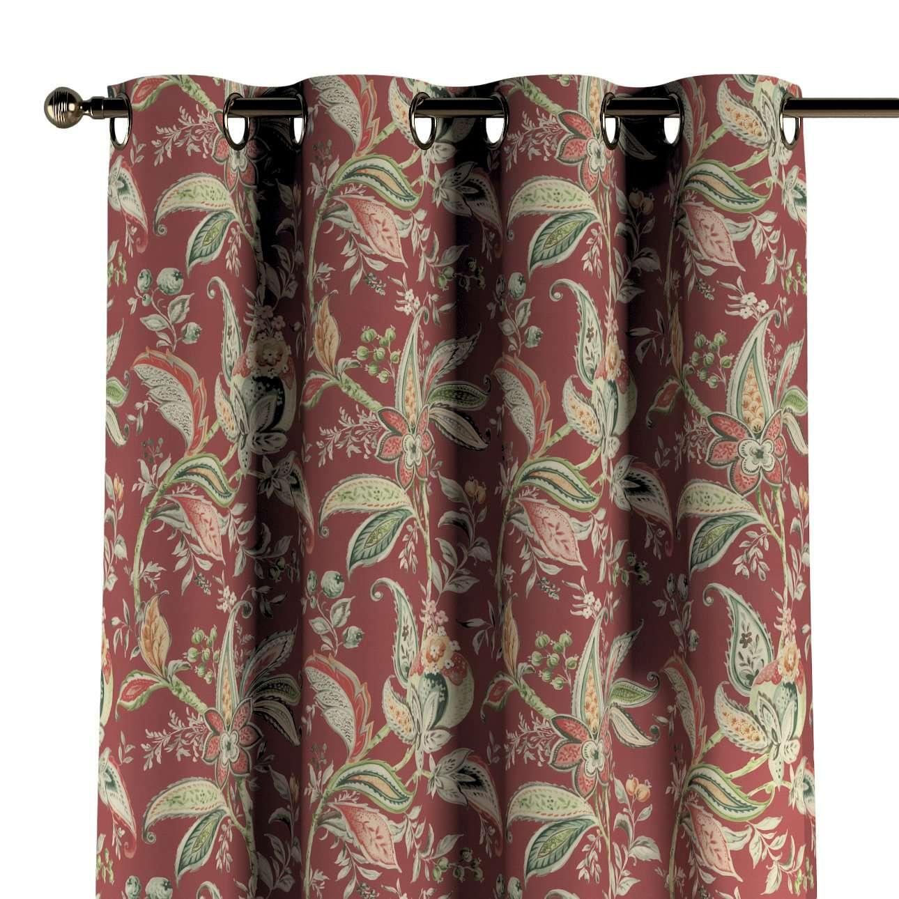Zasłona na kółkach 1 szt. w kolekcji Gardenia, tkanina: 142-12