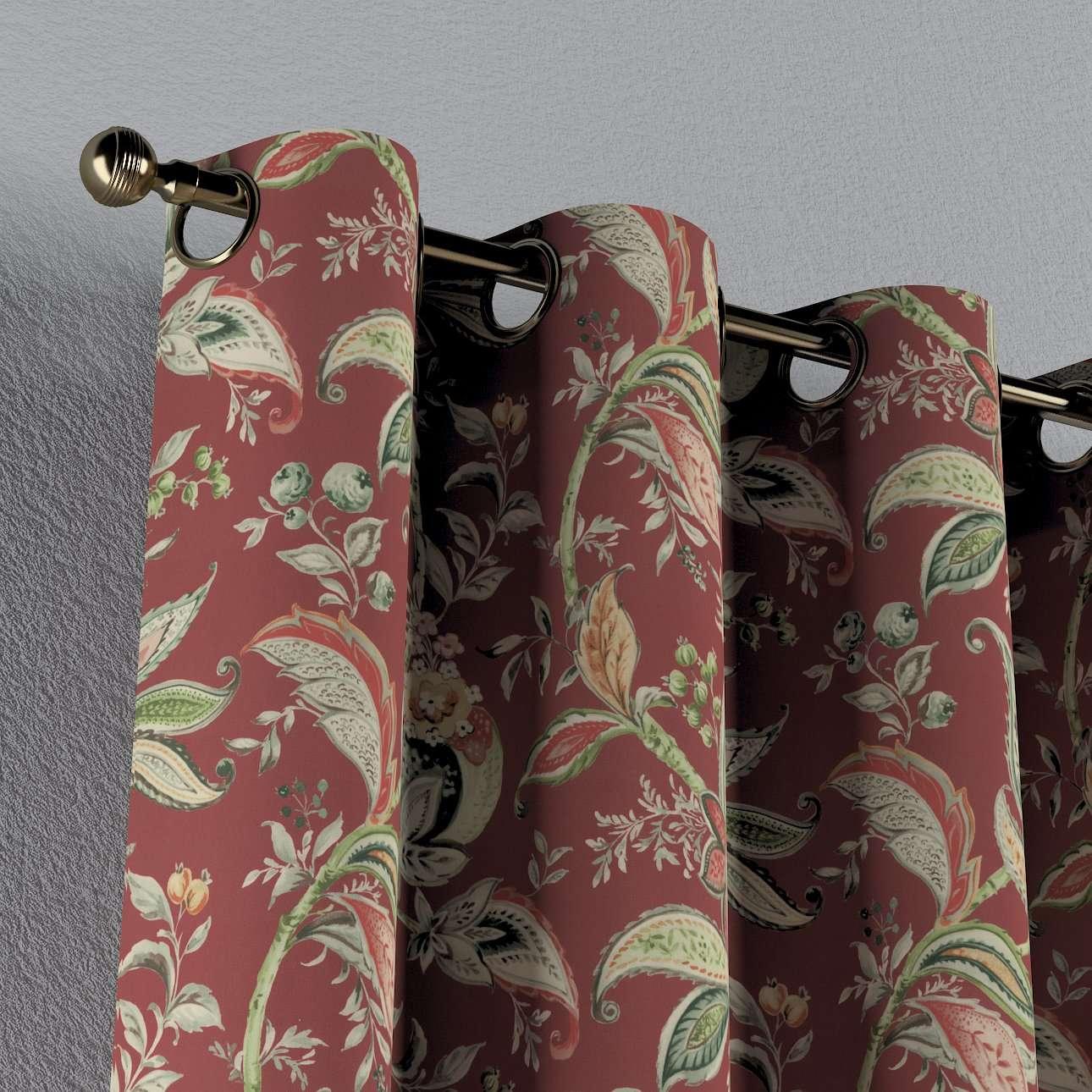 Gordijn met ringen van de collectie Gardenia, Stof: 142-12