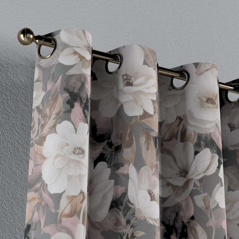 Eyelet curtain in collection Gardenia, fabric: 142-13