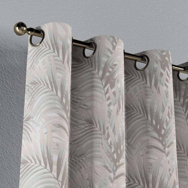 Verho purjerenkailla mallistosta Gardenia, Kangas: 142-14