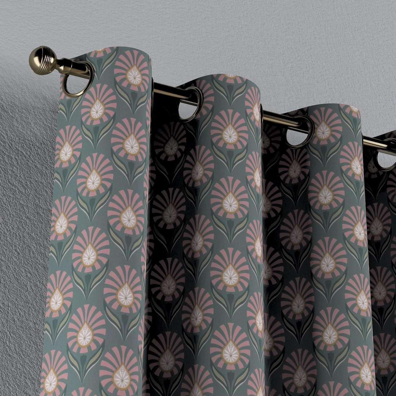 Zasłona na kółkach 1 szt. w kolekcji Gardenia, tkanina: 142-17