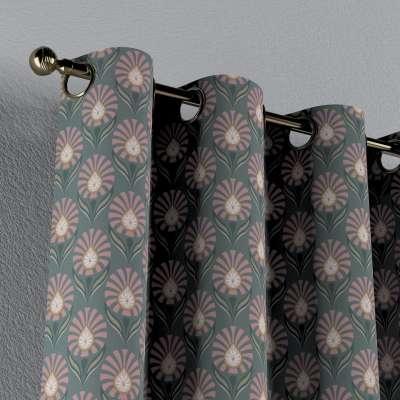 Gordijn met ringen van de collectie Gardenia, Stof: 142-17