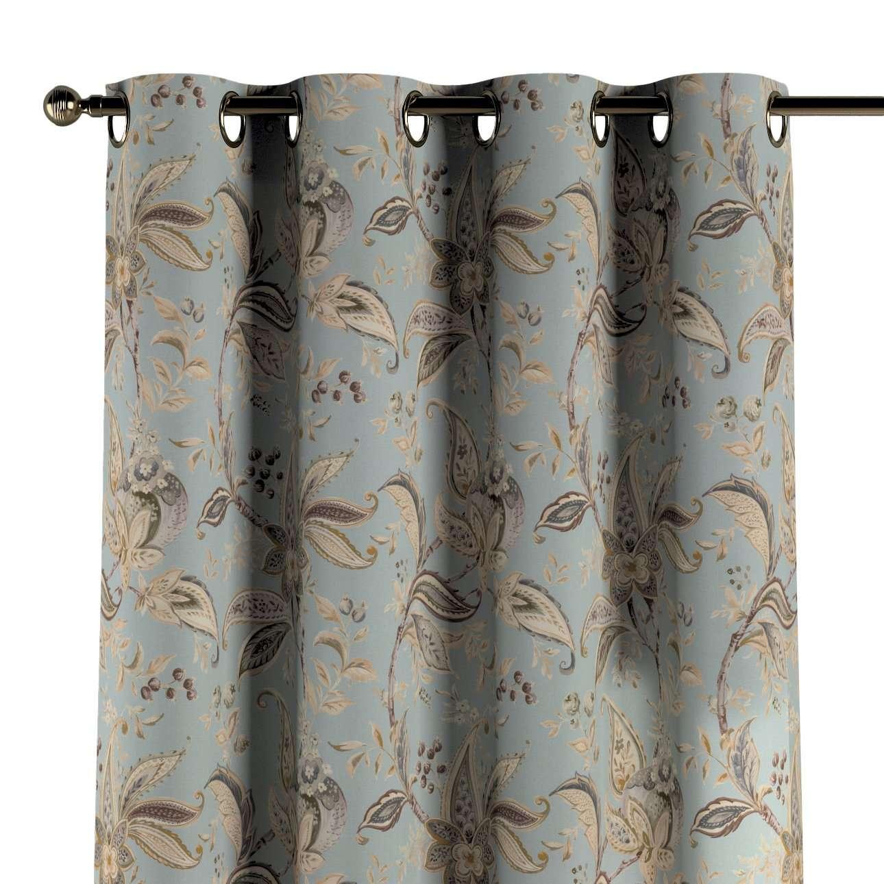 Gardin med maljer 1 stk. 130 × 260 cm fra kolleksjonen Gardenia, Stoffets bredde: 142-18