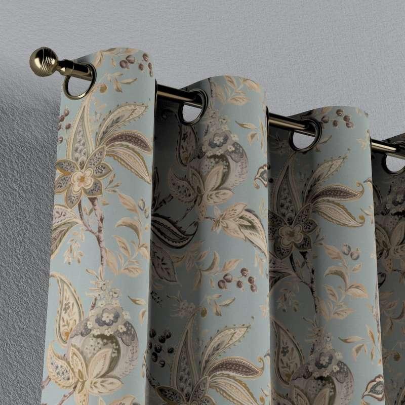 Verho purjerenkailla mallistosta Gardenia, Kangas: 142-18