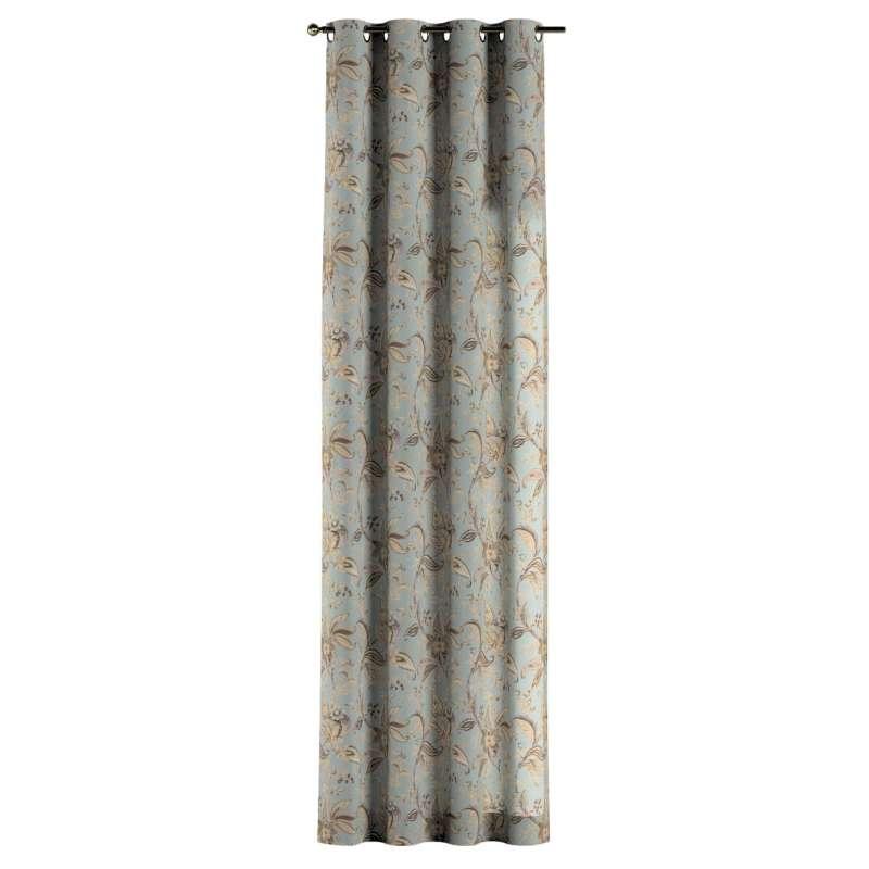 Gardin med öljetter 1 längd i kollektionen Gardenia, Tyg: 142-18