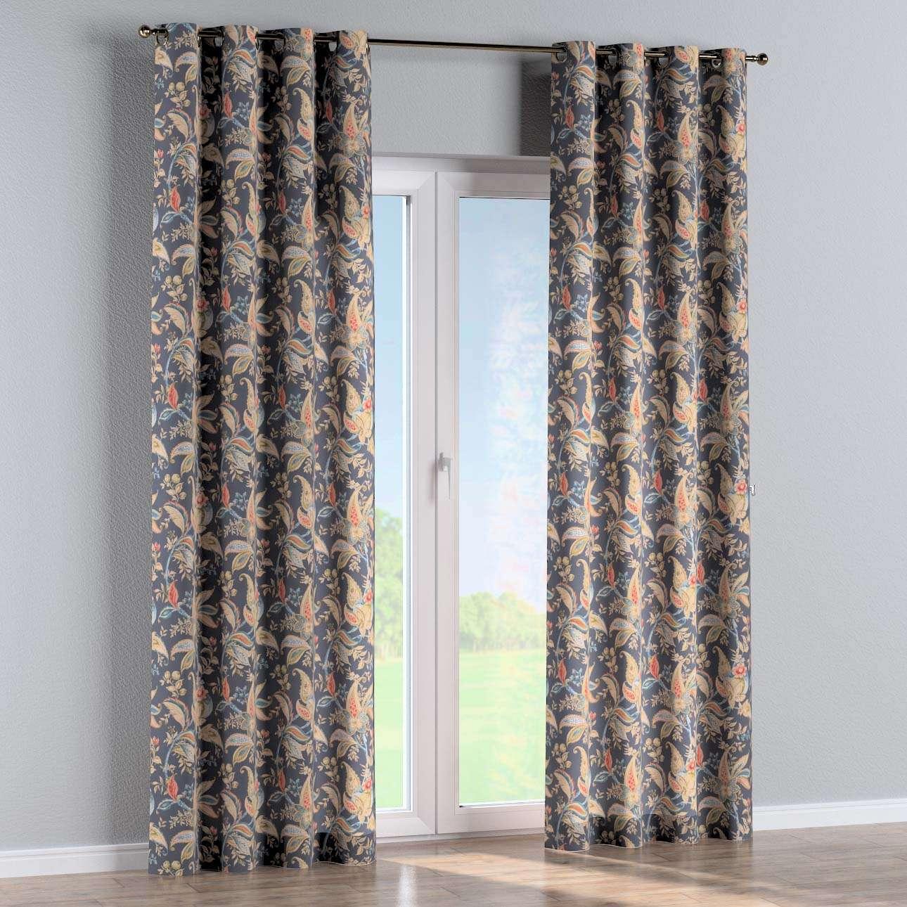 Žiedinio klostavimo užuolaidos kolekcijoje Gardenia, audinys: 142-19