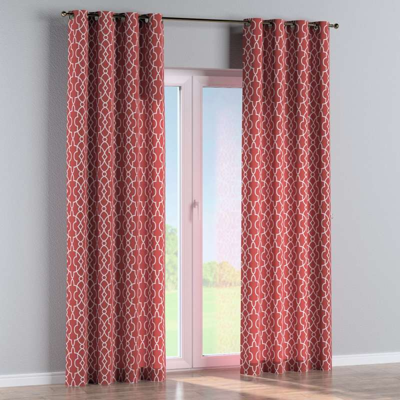 Eyelet curtain in collection Gardenia, fabric: 142-21