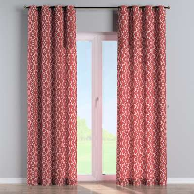 Eyelet curtains in collection Gardenia, fabric: 142-21