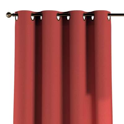 Eyelet curtain 142-33 muted red Collection SALE