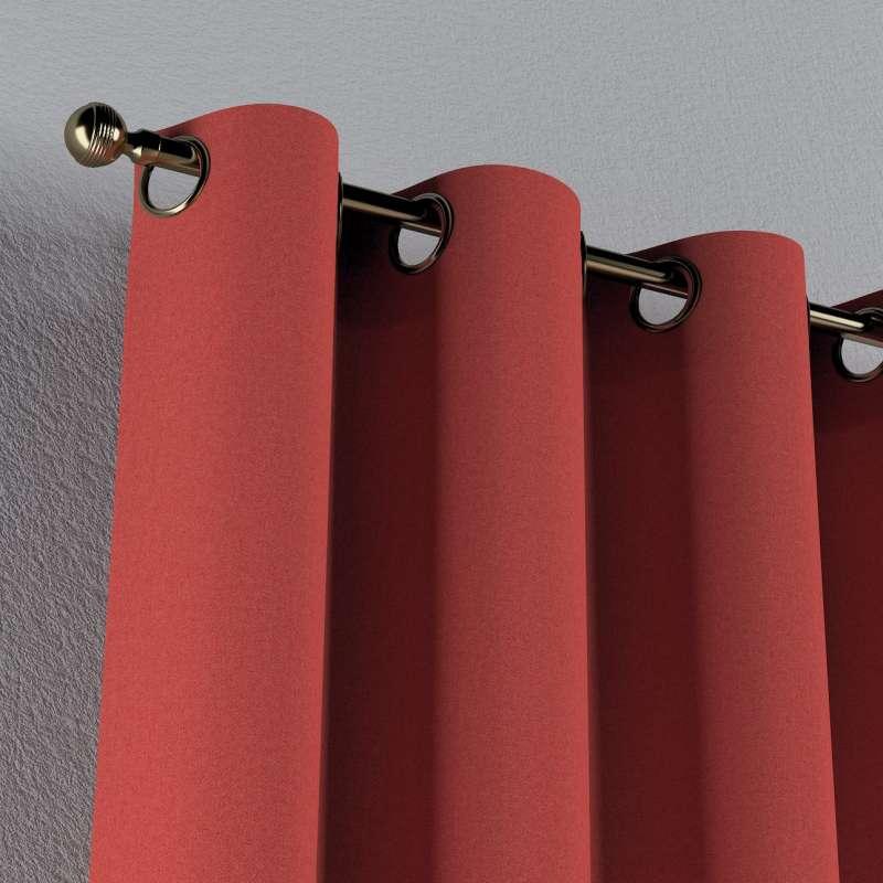 Gardin med öljetter 1 längd i kollektionen Edinburgh, Tyg: 142-33
