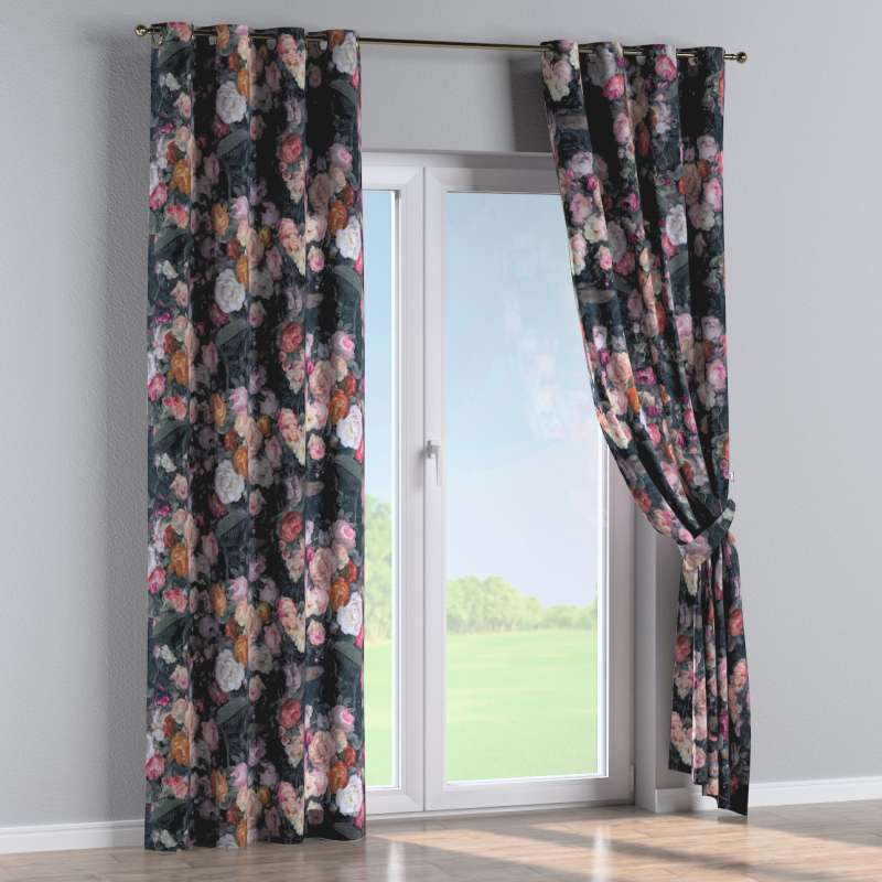 Eyelet curtain in collection Gardenia, fabric: 161-02