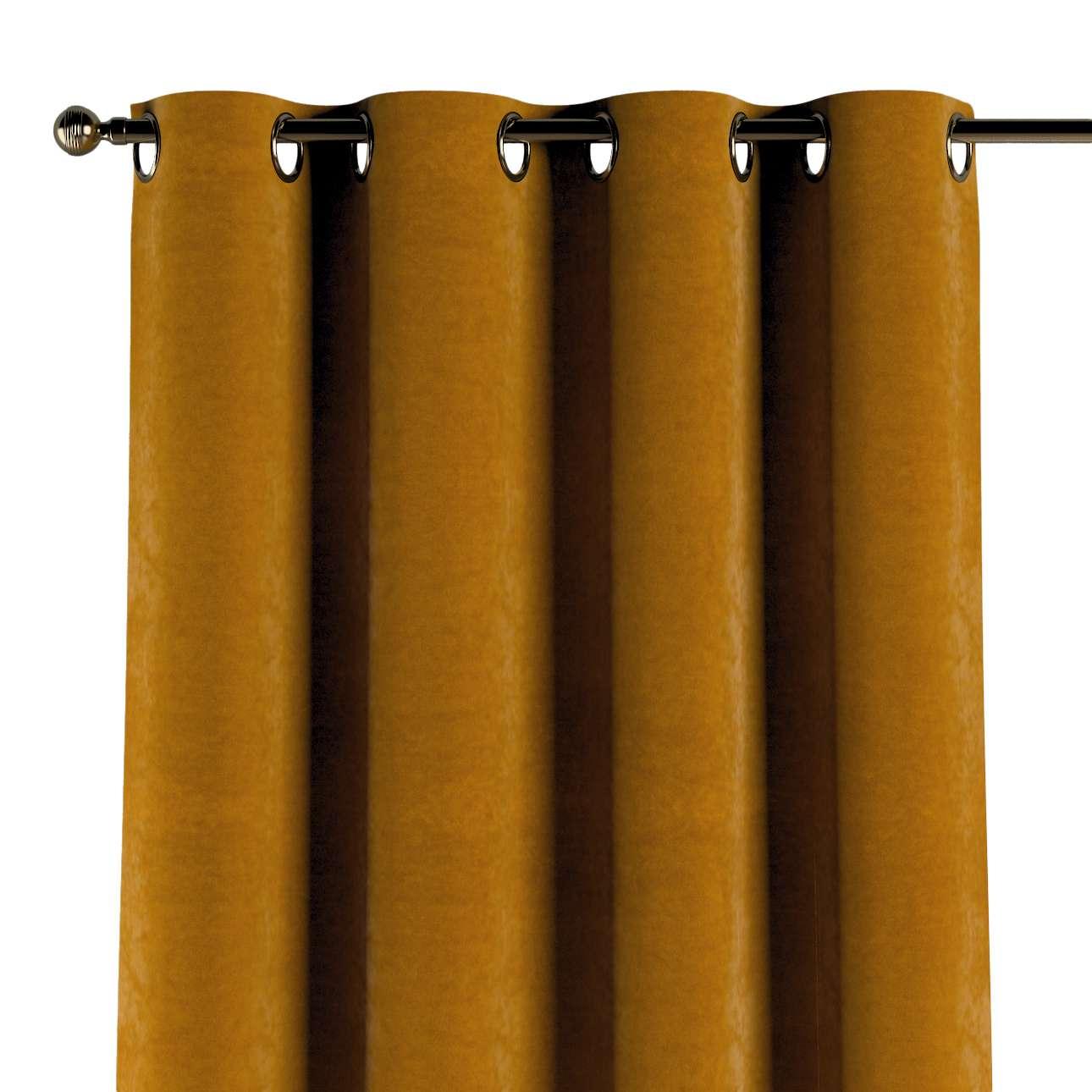 Závěs na kroužcích v kolekci Velvet, látka: 704-23
