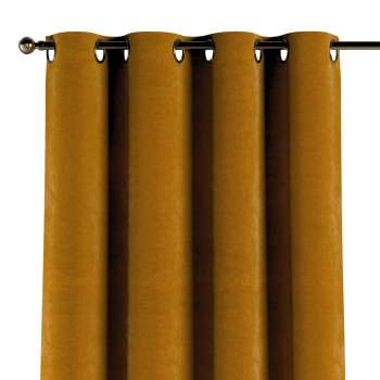 Eyelet curtains in collection Velvet, fabric: 704-23