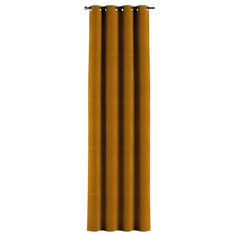 Gardin med øskner 1 stk. fra kollektionen Velvet, Stof: 704-23
