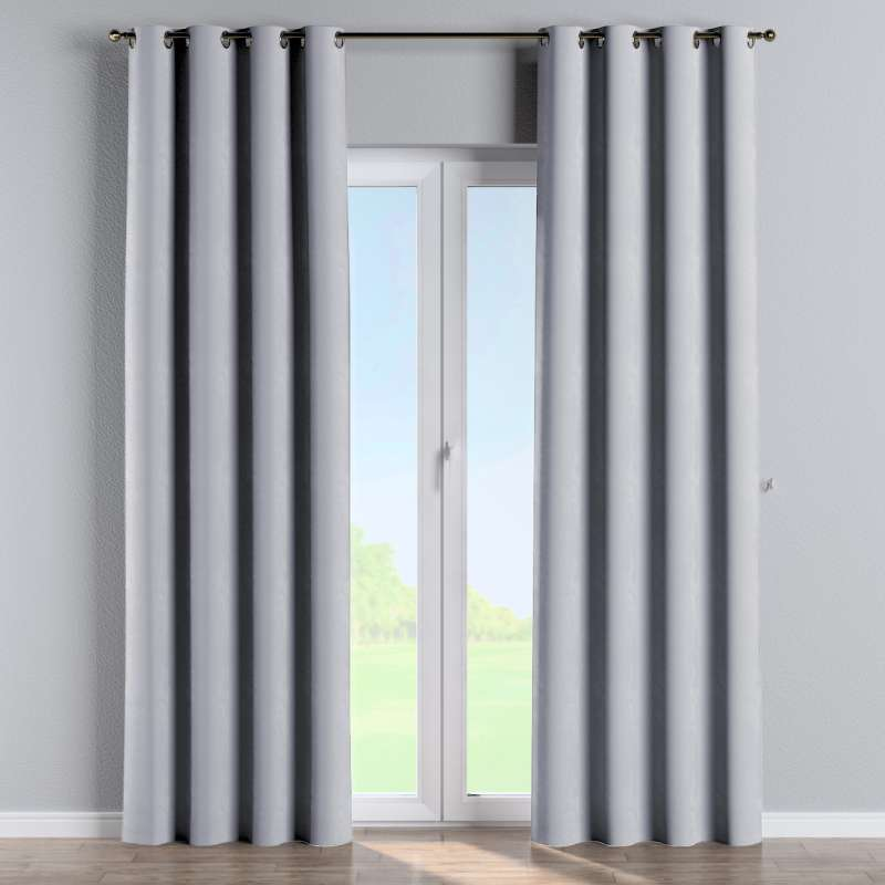Eyelet curtain in collection Velvet, fabric: 704-24