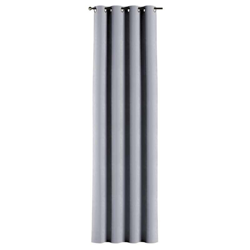 Gardin med öljetter 1 längd i kollektionen Velvet, Tyg: 704-24