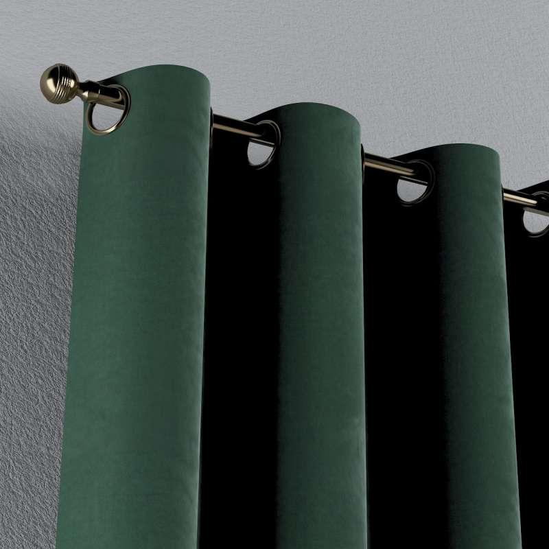 Gardin med öljetter 1 längd i kollektionen Velvet, Tyg: 704-25