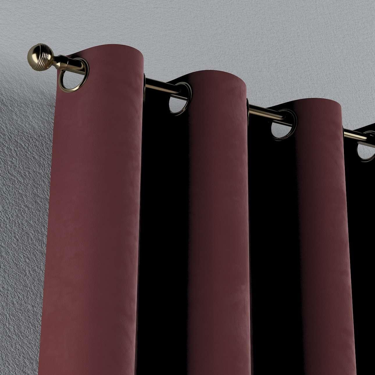 Gardin med maljer 1 stk. fra kolleksjonen Velvet, Stoffets bredde: 704-26