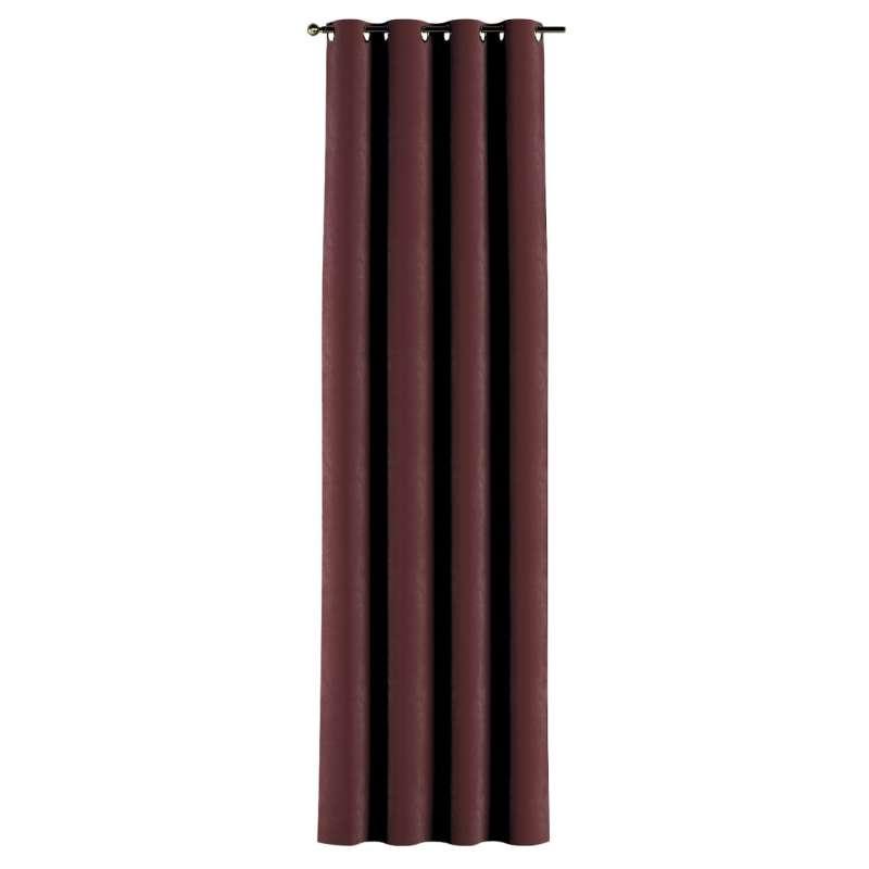 Gardin med öljetter 1 längd i kollektionen Velvet, Tyg: 704-26