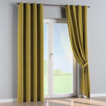 Eyelet curtains in collection Velvet, fabric: 704-27