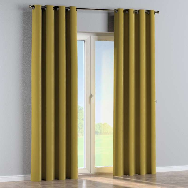 Eyelet curtain in collection Velvet, fabric: 704-27