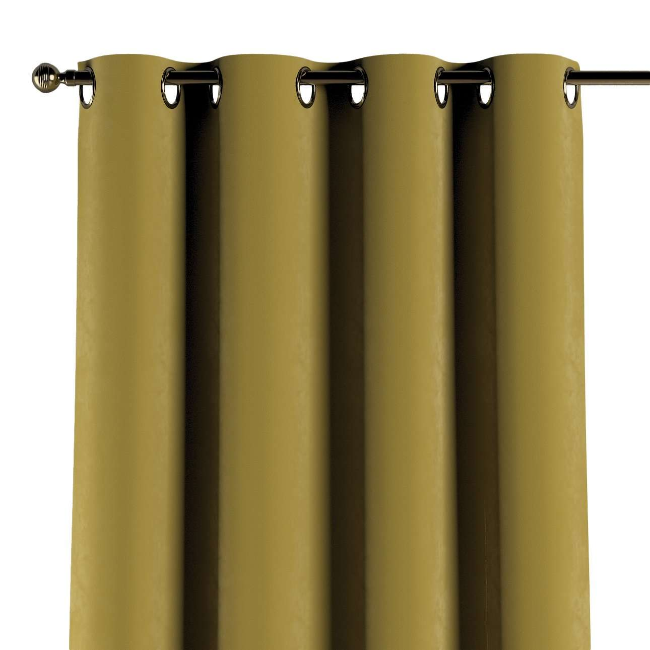 Gardin med maljer 1 stk. fra kolleksjonen Velvet, Stoffets bredde: 704-27