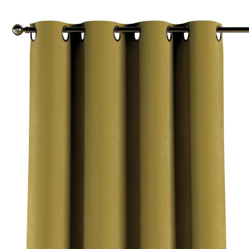 Gardin med øskner 1 stk. fra kollektionen Velvet, Stof: 704-27