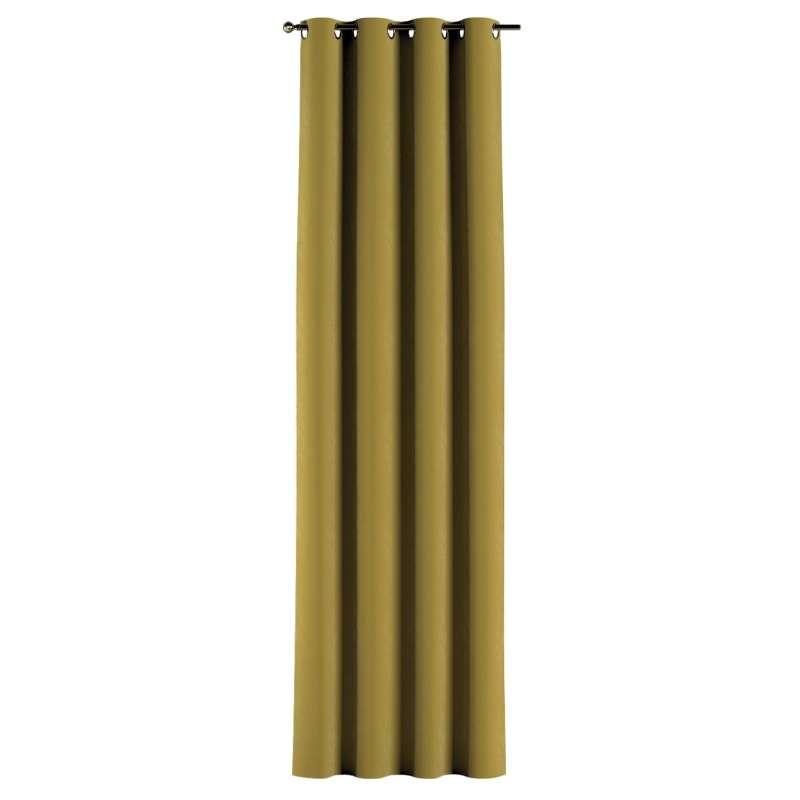 Gardin med öljetter 1 längd i kollektionen Velvet, Tyg: 704-27