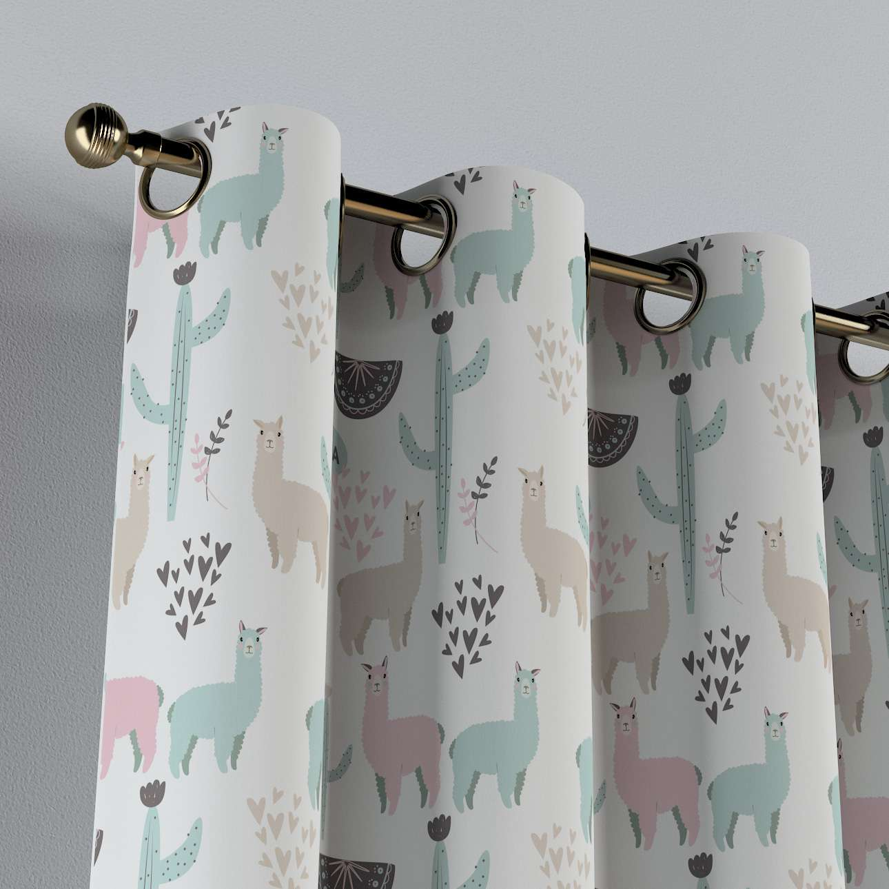 Eyelet curtains in collection Magic Collection, fabric: 500-01