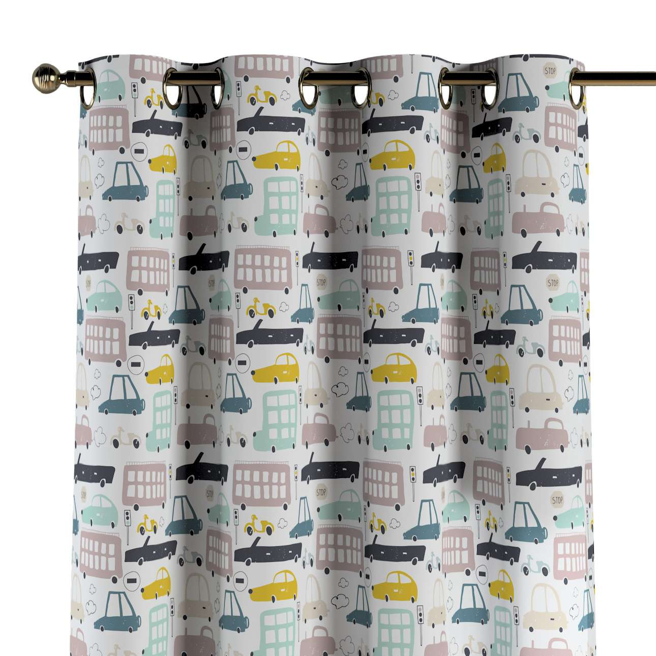 Eyelet curtains in collection Magic Collection, fabric: 500-02