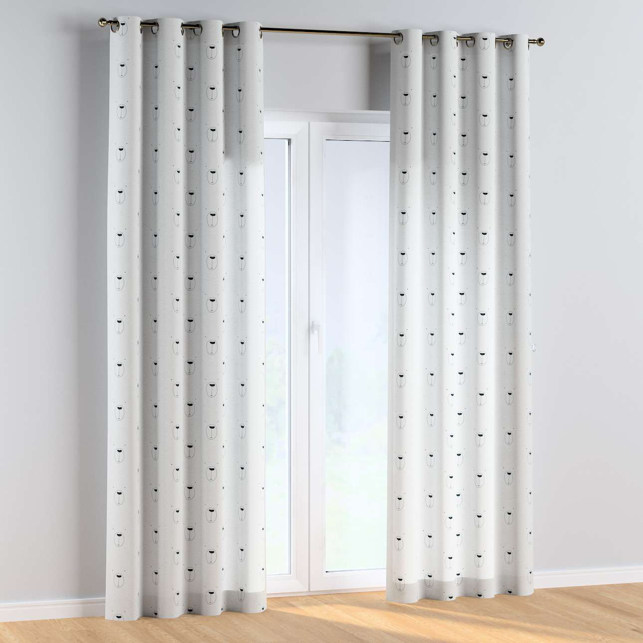 Eyelet curtains in collection Magic Collection, fabric: 500-06