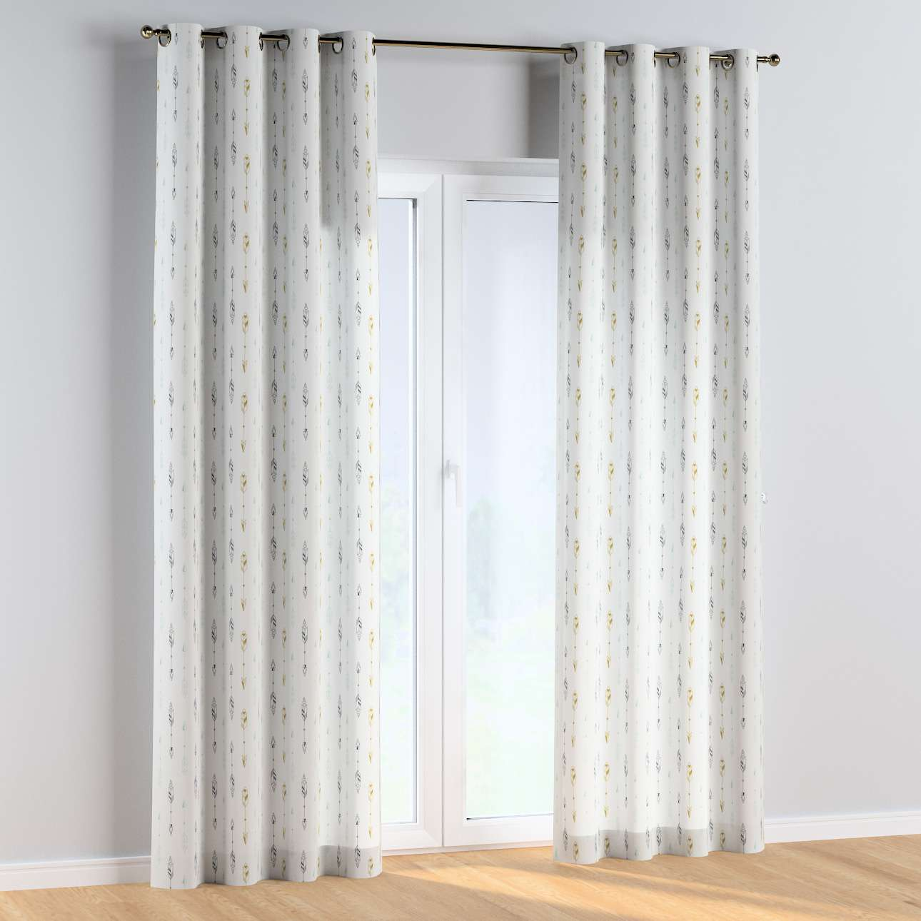 Eyelet curtains in collection Magic Collection, fabric: 500-07