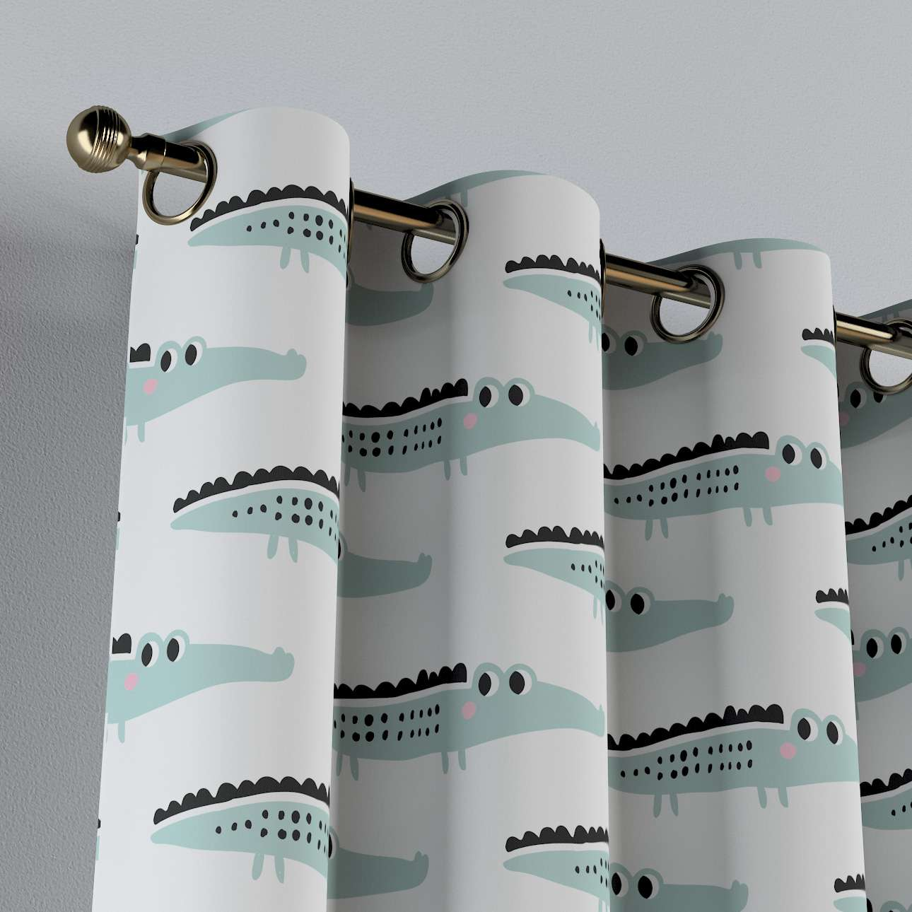 Eyelet curtains in collection Magic Collection, fabric: 500-11