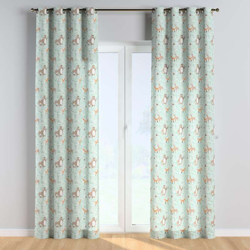 Eyelet curtains in collection Magic Collection, fabric: 500-15